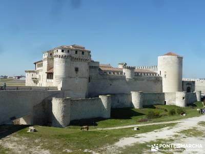 Castillos de Cuellar y Coca - Arte Mudéjar;senderismo cercedilla madrid excursiones de un día
